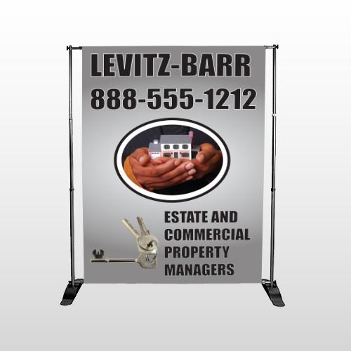 Bar 362 Pocket Banner Stand