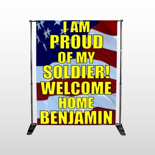 Flag 57 Pocket Banner Stand