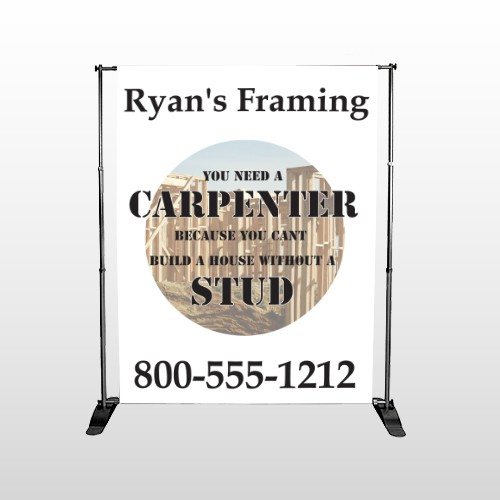 Framing 237 Pocket Banner Stand