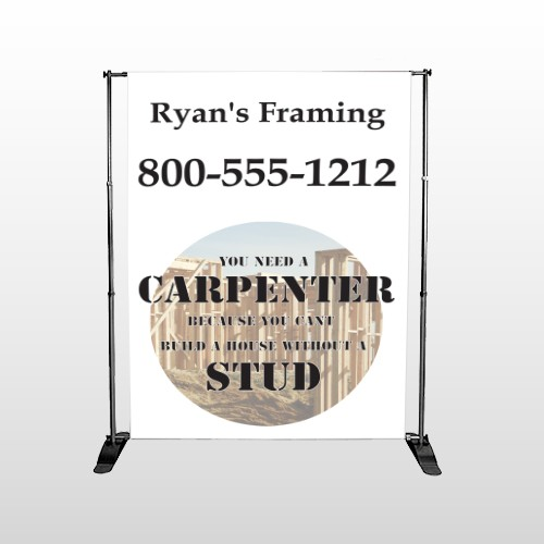Framing 240 Pocket Banner Stand