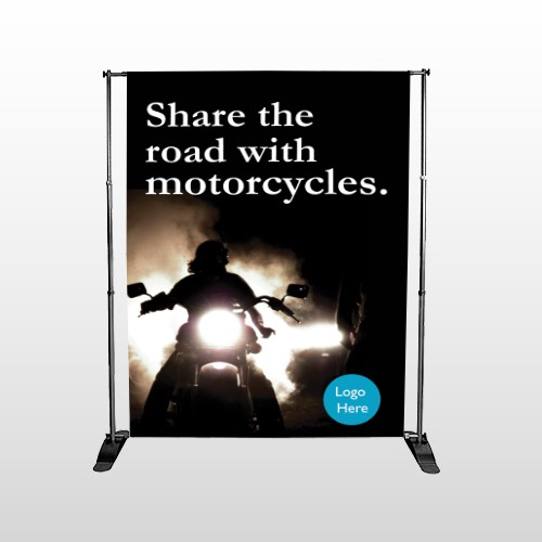 Motorcycle 106 Pocket Banner Stand
