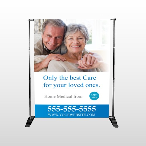 Old 96 Pocket Banner Stand