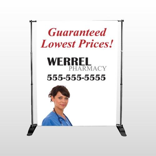 Pharmacist  104 Pocket Banner Stand
