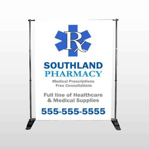 Pharmacy 103 Pocket Banner Stand
