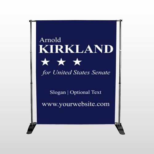 Senate 134 Pocket Banner Stand