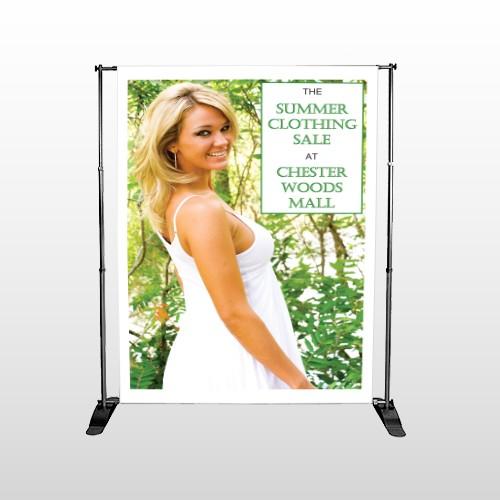Summer Sale 533 Pocket Banner Stand