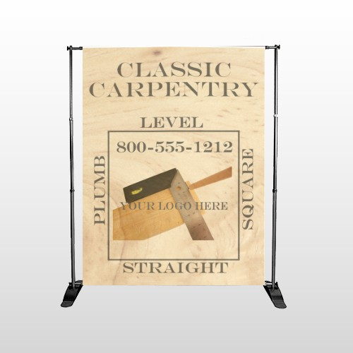 Carpentry 236 Pocket Banner Stand