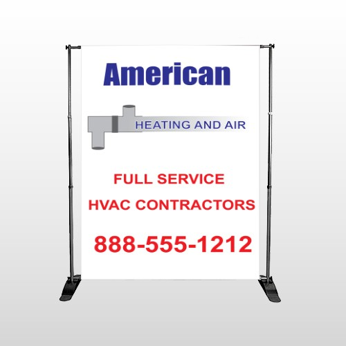 Construction 252 Pocket Banner Stand