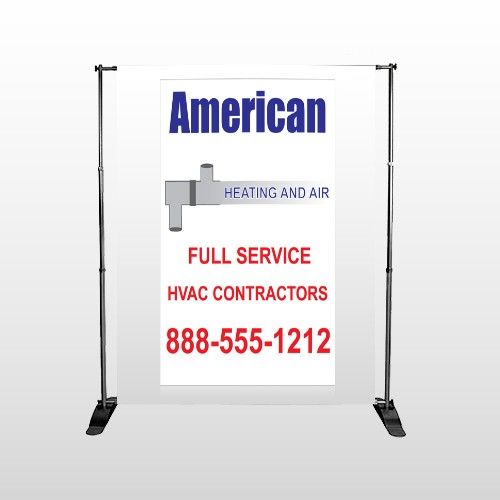 Construction 243 Pocket Banner Stand