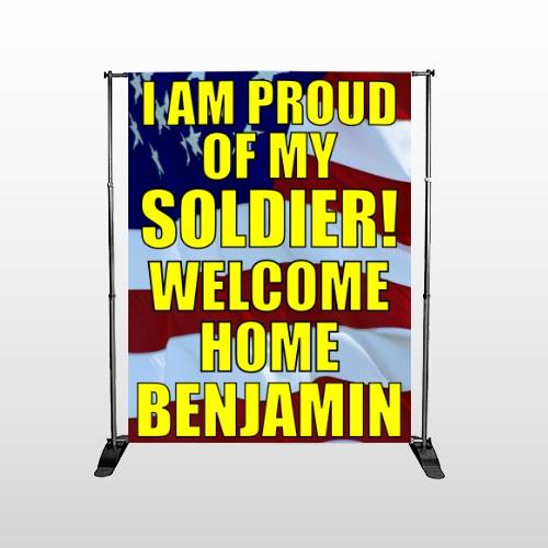 Flag 52 Pocket Banner Stand