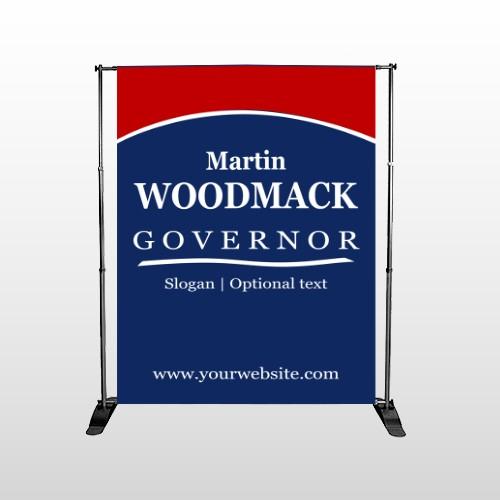 Governor 132 Pocket Banner Stand
