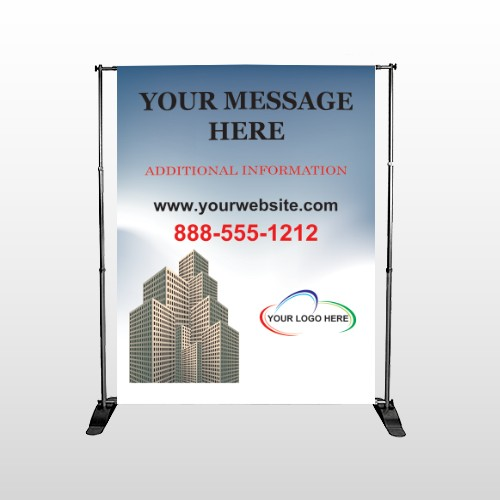 Industry 151 Pocket Banner Stand