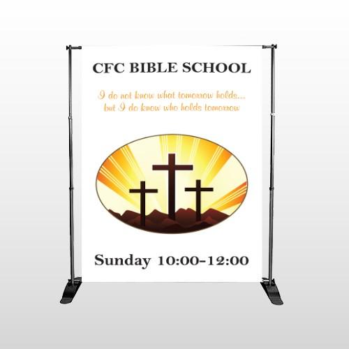 Shining Cross 161 Pocket Banner Stand