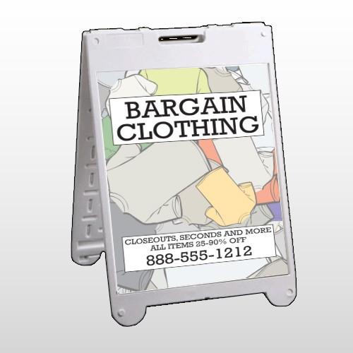 Bargain Bin 532 A Frame Sign