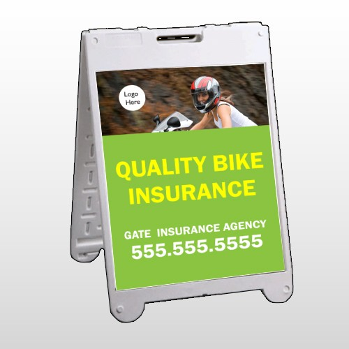 Bike Insurance 110 A Frame Sign