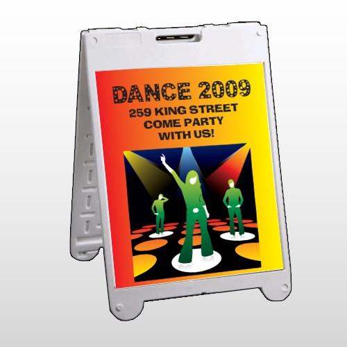 Dance Disco 518 A Frame Sign