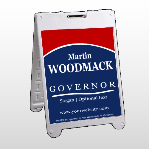 Governor 308 A Frame Sign