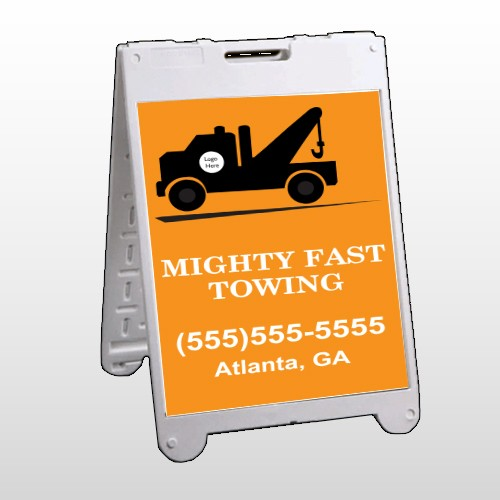 Mighty 128 A Frame Sign
