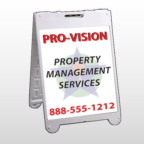 Property Management 247 A Frame Sign