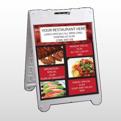 Restaurant Specials 370 A Frame Sign