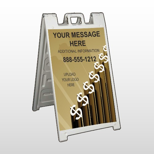 Banking 160 A Frame Sign
