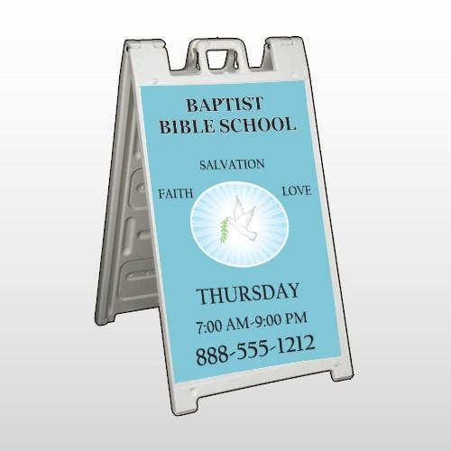 Bibledove 162 A Frame Sign