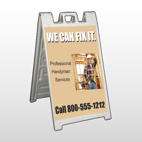 Handyman 240 A Frame Sign