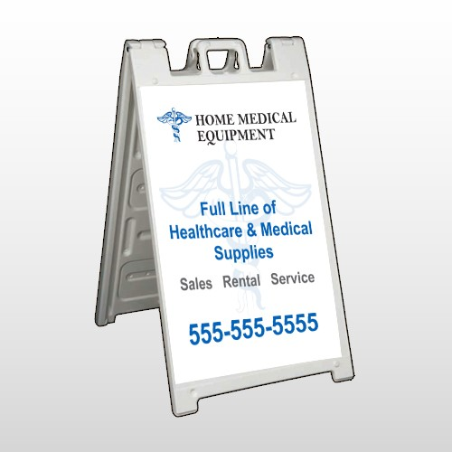 Medical Symbol 99 A Frame Sign