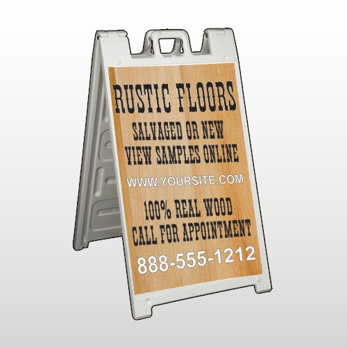 Wood Panel 248 A-Frame Sign