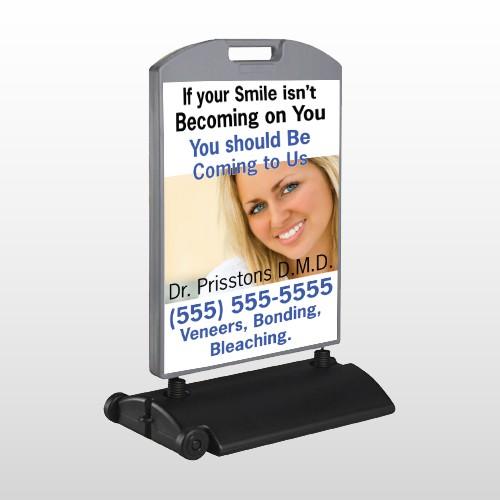 Dental 48 Wind Frame Sign