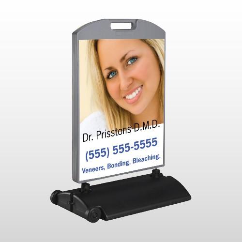 Dental 49 Wind Frame Sign