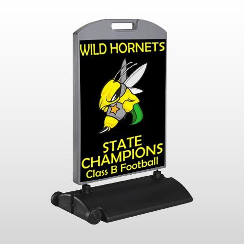 Hornet 44 Wind Frame Sign