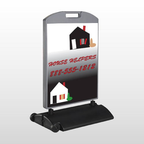 Househelper 245 Wind Frame Sign