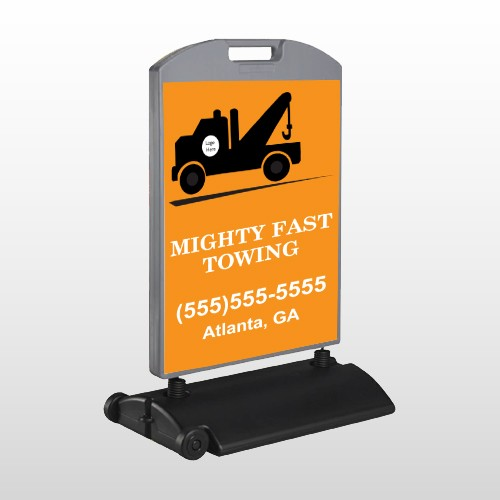Mighty 128 Wind Frame Sign