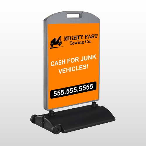 Mighty 313 Wind Frame Sign