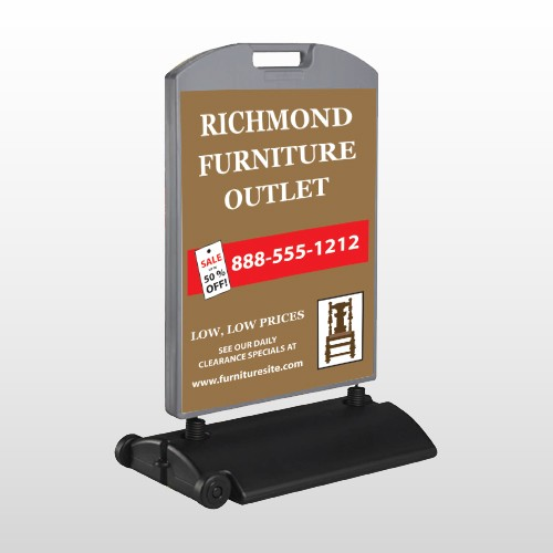 Outlet Chair 527 Wind Frame Sign