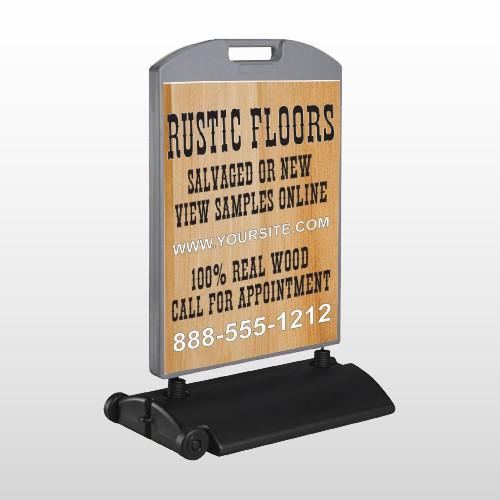 Wood Panel 248 Wind Frame Sign