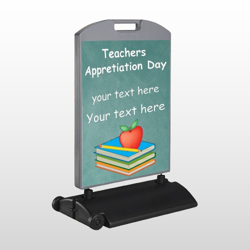 Apple Books Pencil 07 Wind Frame Sign