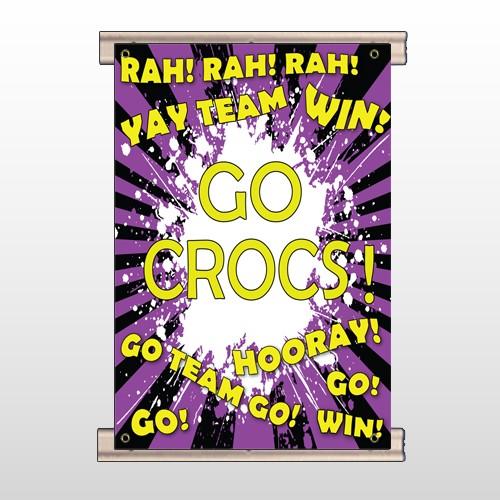 Crocs 54 Track Banner