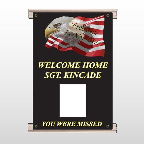 Eagle Flag 307 Track Banner