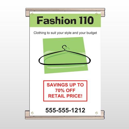 Fashion Hanger 526 Track Banner