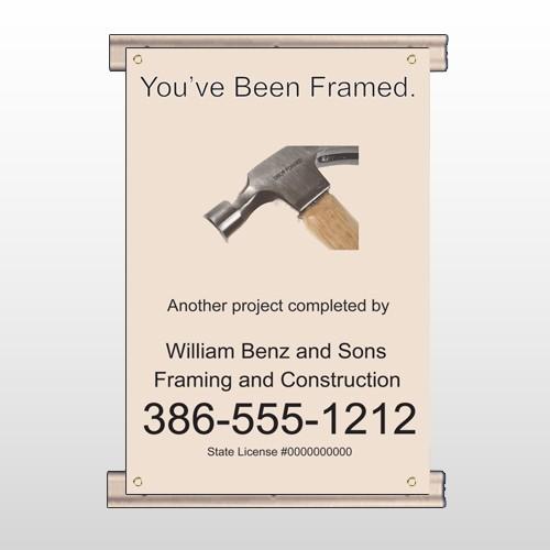Framed 236 Track Banner