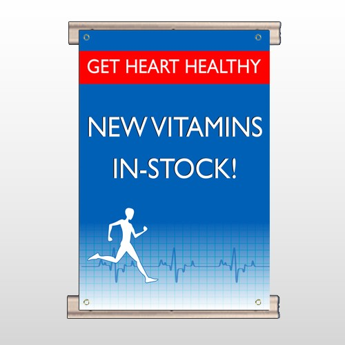 Heart Healthy 140 Track Banner