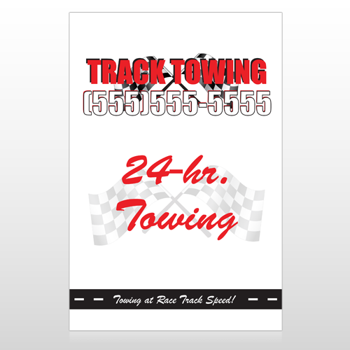 Towing 126 Custom Sign