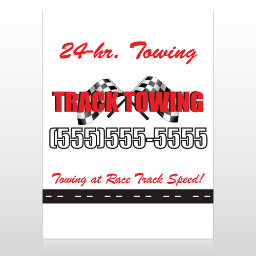 Towing 311 Custom Sign