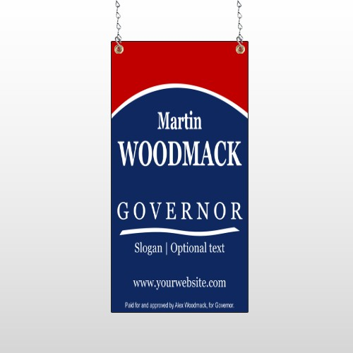Governor 308 Window Sign