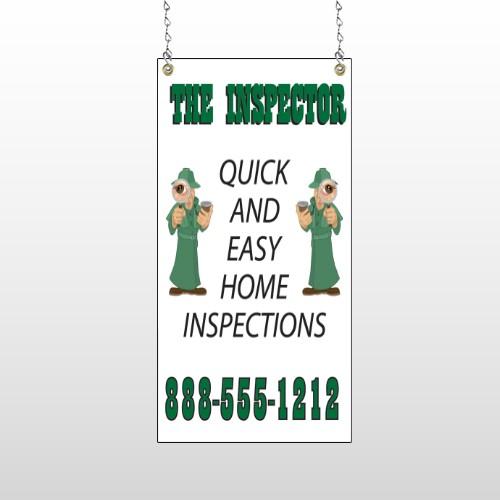 Inspector 361 Window Sign
