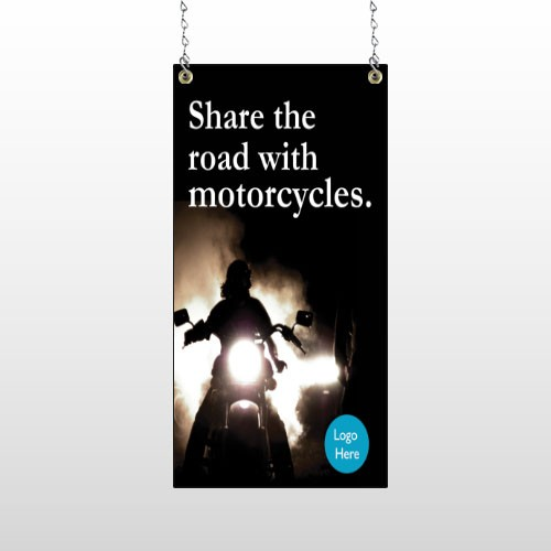 Motorcycle 106 Window Sign