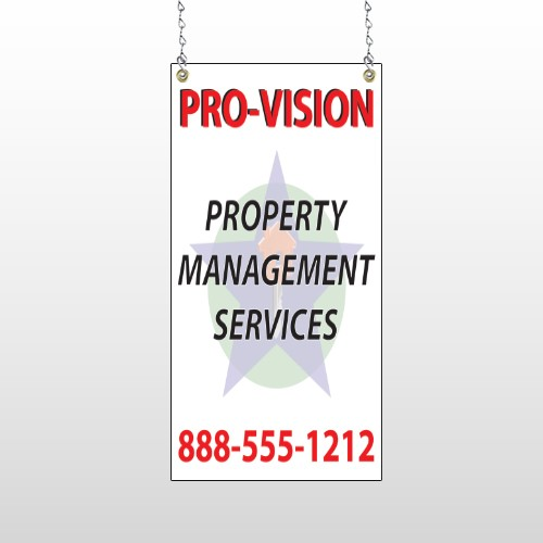 Property Management 247 Window Sign
