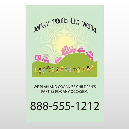 World Party Plan 520 Custom Decal